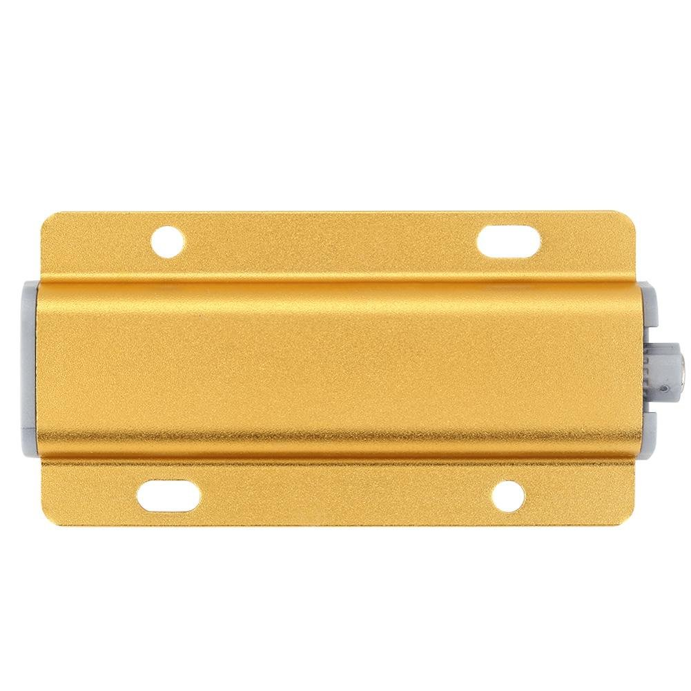 Yosooo Cabinet Door Drawer Damper Buffer Push To Open System Latch with Magnetic Tip 5 Pcs(Gold) by Yosooo (Image #1)