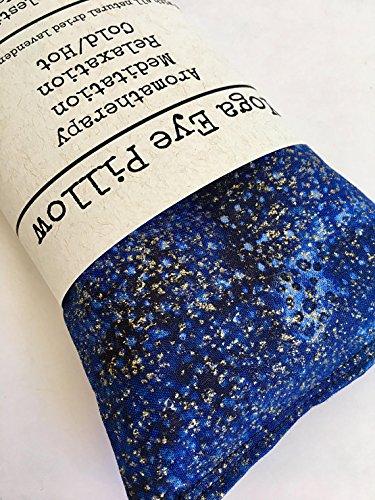 Amazon.com: Dried Lavender Meditation Eye Pillow, Yoga Props ...