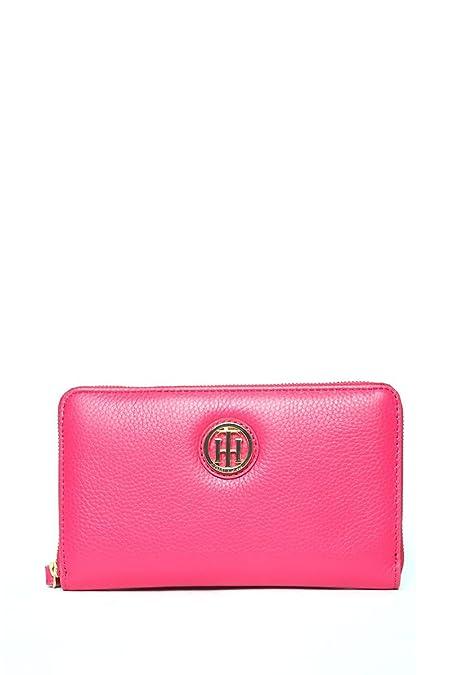 Tommy Hilfiger - Cartera de mano con asa para mujer rosa rosa claro: Amazon.es: Zapatos y complementos