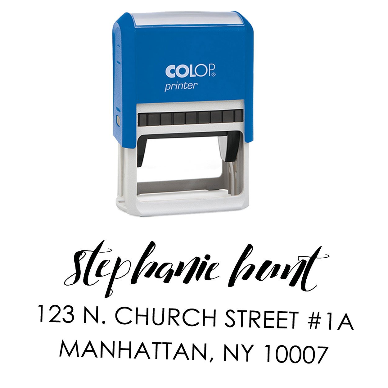 Personalized Family Return Address Stamp Self Inking Custom Name Rubber Stamper Engagement Gift Printtoo