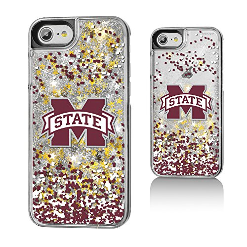 Keyscaper Mississippi State Bulldogs Gold Glitter Case for the iPhone 6/6S/7/8 NCAA