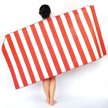 ENticerowts - Toalla de Playa para Yoga de Secado rápido ...