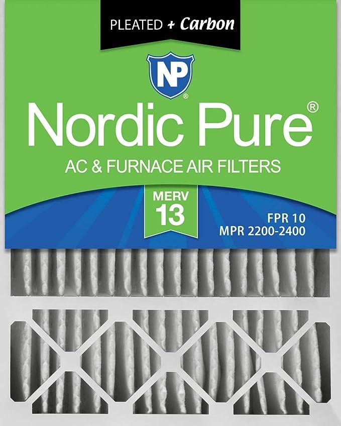 Amazon.com: Nordic Pure - Filtro de aire para horno MERV 13 ...