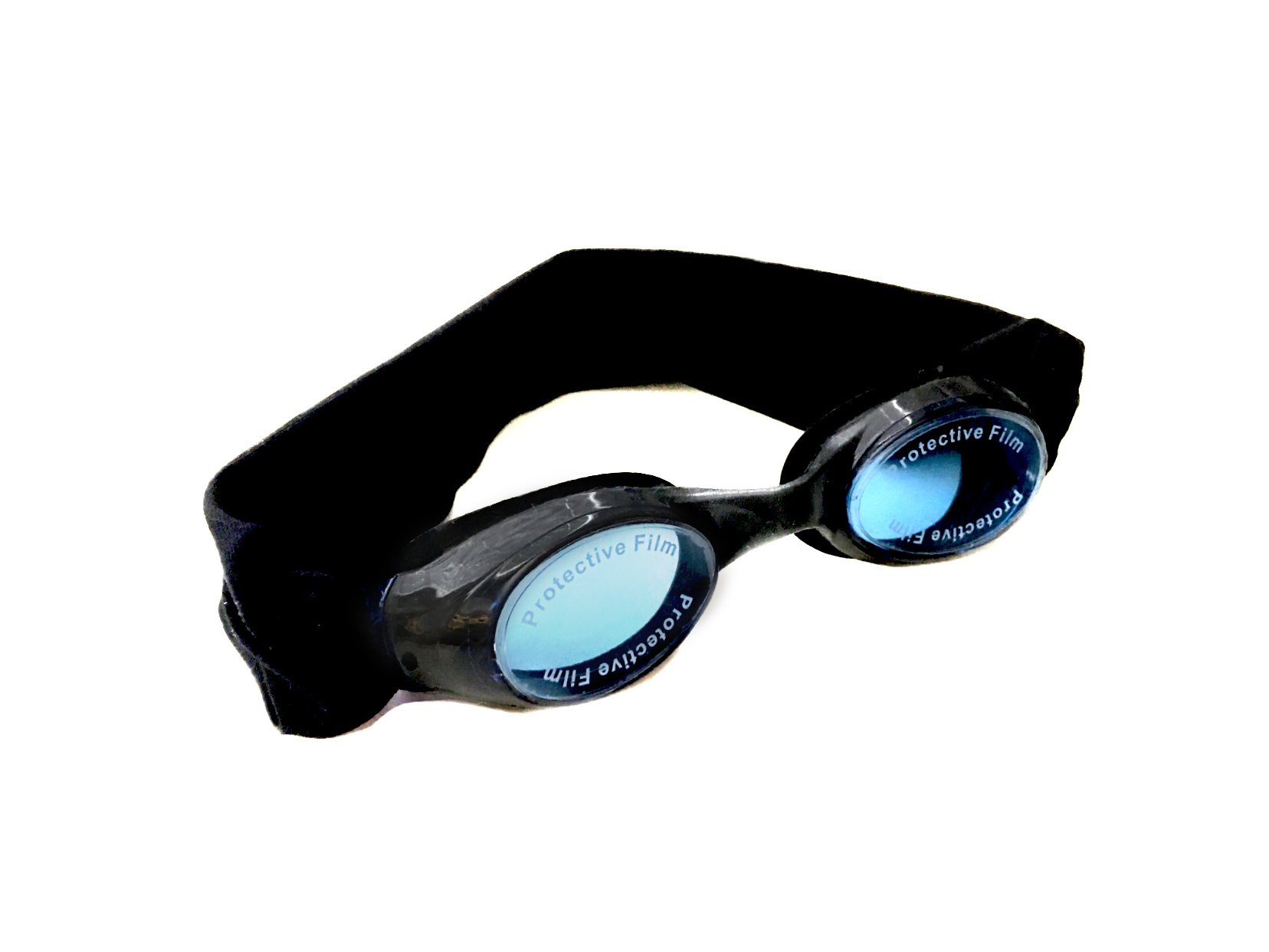 Splash Midnight Swim Goggles - Comfortable, Fashionable, Fun - Fits Kids & Adults - Won't Pull Your Hair - Easy to Use - High Visibility Anti-Fog Lenses - Patent Pending