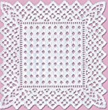 Sisson Imports Doilies Whimsical Lace, Square, 8 X 8