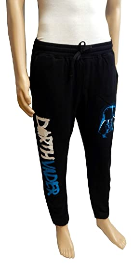 b54efce437ac Star Wars Darth Vader Men s Black Jogger Lounge Pajama Sweatpants Unisex  (Small)
