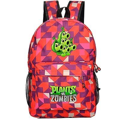 Siawasey Cute plantas Zombie juego Bookbag Caliente Mochila Escolar Bolsa de hombro (32 estilos): Ropa y accesorios