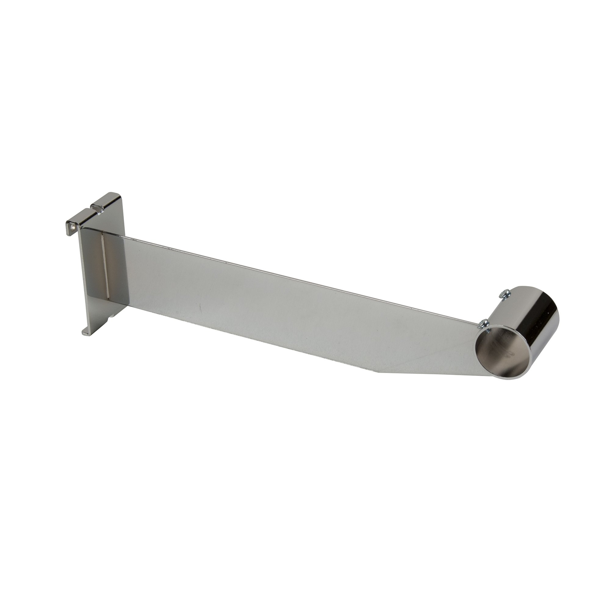 Econoco Hangrail Bracket for 1-1/4'' Round Tubing, 12'' (Pack of 24)