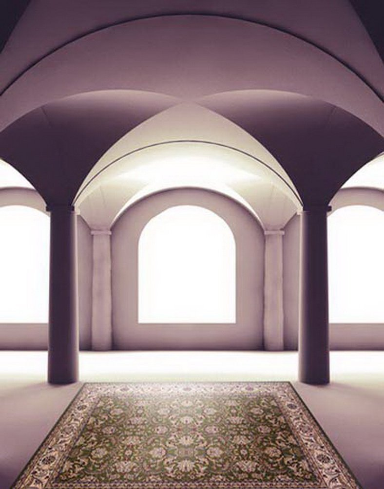 クラシックカーペットHall写真Backdrops写真小道具Studio背景5 x 7ft   B01GGBD9SQ
