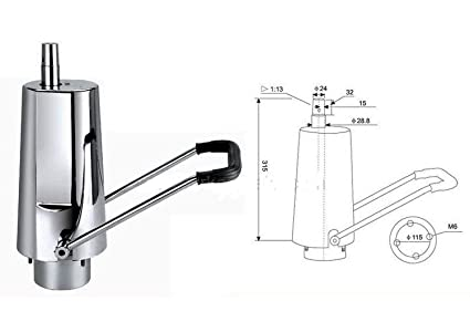 350B Bomba Elevacion hidraulica para sillones de peluqueria Móveis Salão Cadeira Do Barbeiro Barbero Bombas