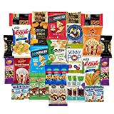 #9: SnackBOX Gluten Free Healthy Snacks Care Package for College Students, Military, Office and More. Over 3 LBS of Chips, Popcorn, and granola Bars. (34 Count)