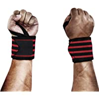 A Pair of Adjustable Sports Wrist Wraps Support Band,Compression Wrist Brace Straps Effective For Carpal Tunnel, Weight…