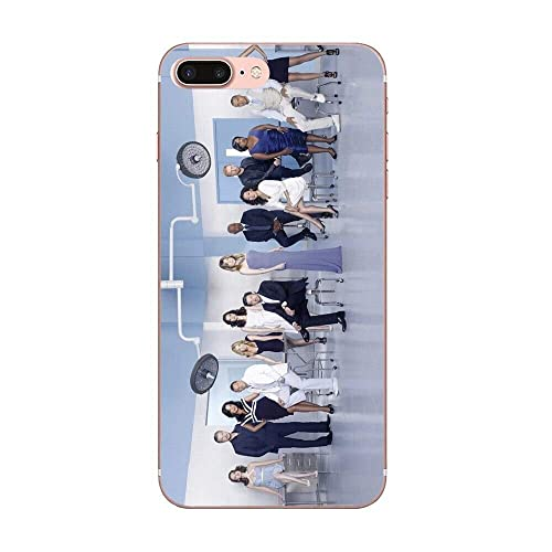 Merchandise Inspired by Greys Anatomy Phone Case Compatible With Iphone 7 XR 6s Plus 6 X 8 9 11 Phones Cases Pro XS Max Clear Iphones Cases TPU Merch Keychain Books 4000116946076
