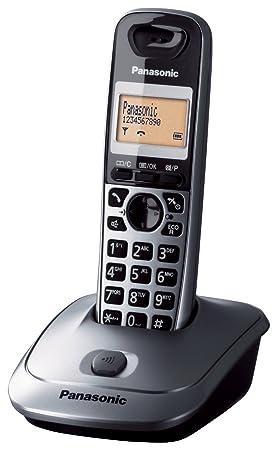 a3c29e12127 Panasonic KX-TG2511SPM - Teléfono DECT Inalámbrico (Alarma, Pantalla LCD  monocroma, Capacidad de lista de direcciones: 50, Remarcado), Gris:  PANASONIC: ...