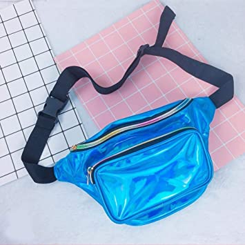 2018 Style Fashion Reversible Mermaid Sequin Glitter Waist Fanny Pack Belt  Bum Bag Pouch Hip Purse  Amazon.co.uk  Kitchen   Home 29408c9cc6b4