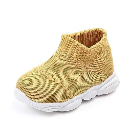 Mealeaf ❤️ Zapatillas de Deporte para niños y niñas (0-15 m ...