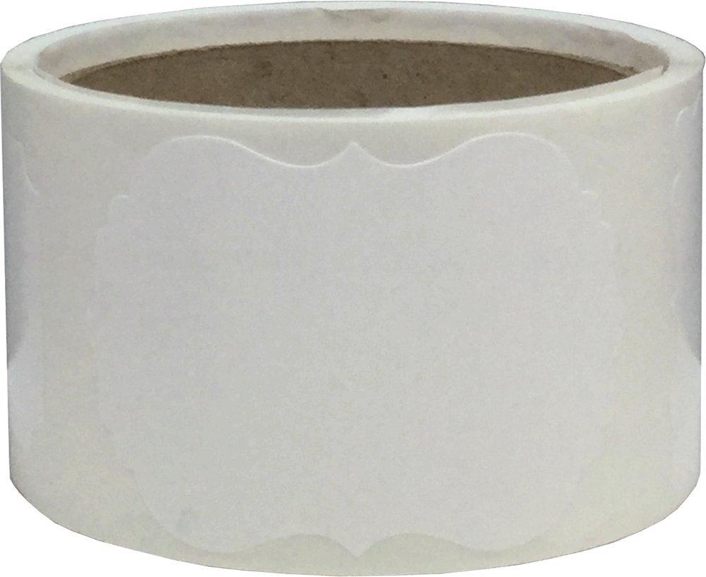 51 x 76 mm 2 x 3 Pollici Bianco Natale Regalo Adesivi 100 Etichette su Rotolo