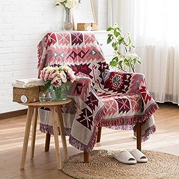 BBYZL Sofa Cushions, Sofa Cover, Sofa Scarf, Knitting Thread Blanket,  Tablecloth,