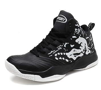 GLSHI Zapatillas de Baloncesto Transpirables para Hombre 2018 otoño Acolchado Deportes al Aire Libre Zapatos tamaño Extra Grande: Amazon.es: Deportes y aire ...
