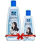 Parachute Advansed Jasmine Coconut Hair Oil, 400 ml with Free 90 ml pack
