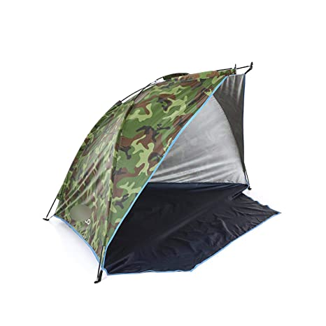 Beach Tent for 2 Persons Outdoor Shelters Summer Sunshade Park Camping Picnic