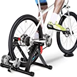 YAHEETECH Fluid Bike Trainer Stand Indoor Bicycle Exercise Stand Mountain & Road Bike Portable Foldable Cycling Training…