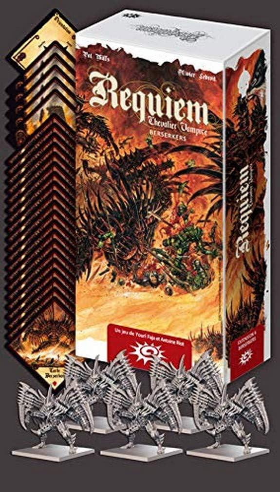 Asmodee- Requiem - Caballero Vampire-Extension 6: Berserkers, ASTREQ06, multicolor , color/modelo surtido