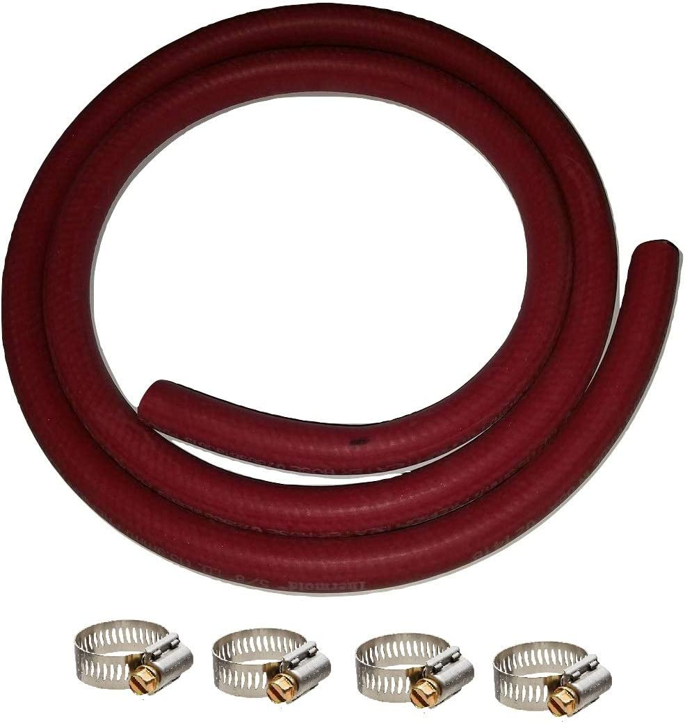 HBD Thermoid Premium Heater Hose 6 Feet Length x 1//2 Inch Inside Diameter