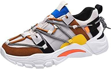 New Mens Trainers Shoes Casual Zip Lace Up Walking Hiking Sports Gym Sizes 6-13