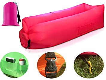 Sports & Entertainment Outdoor Air Sofa Shaking Fast Inflatable Portable Travel Small Pocket Sofa Large Assortment Camp Sleeping Gear