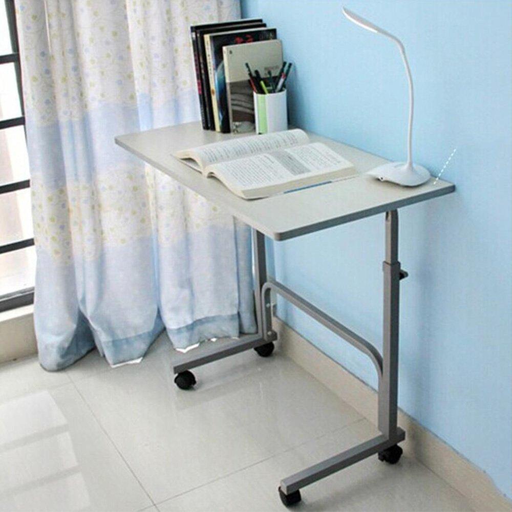 XIA 折り畳みテーブル シンプルなラップトップデスクベッドデスクデスク卓上小型テーブルドミトリーベッドサイドラーニングデスク学生デスクポータブルブックデスク(ホワイトルース)(3サイズオプション) 折りたたみテーブル (サイズ さいず : 80*30cm) B07DTBV26Z80*30cm