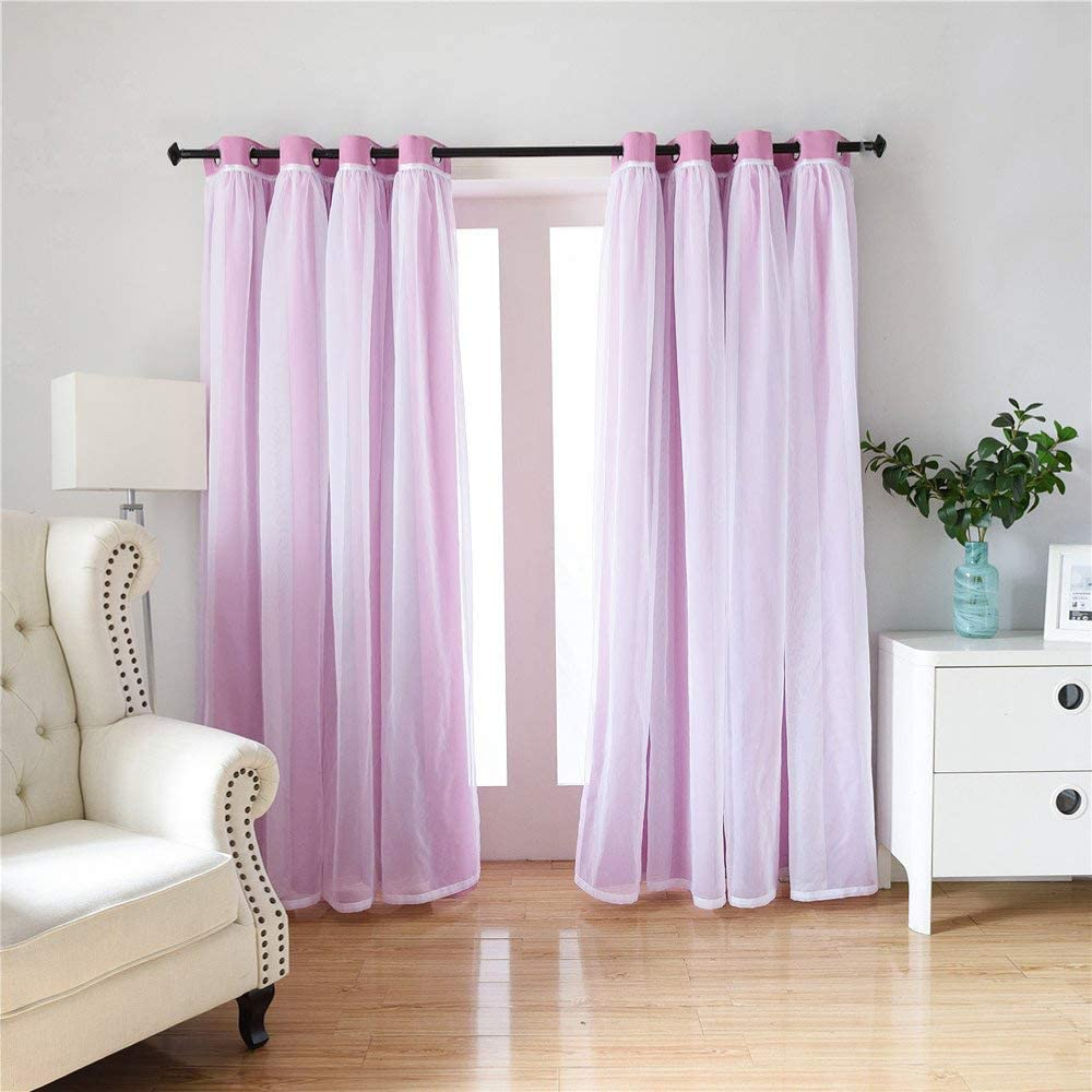 Premier Prints 2 Curtains each 24 or 52 Wide Living Room Nursery Pink Drapes Indian Bedroom Midwest Curtains Childrens Curtains