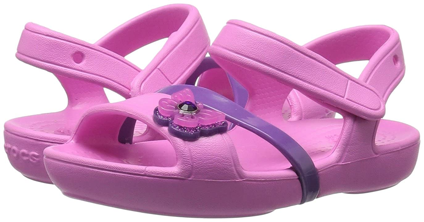 68551acda41f crocs Kids  Girls Lina Sandal Flat  Buy Online at Low Prices in India -  Amazon.in