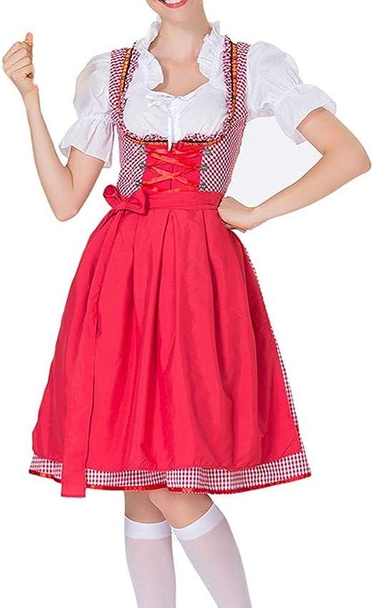 Blusa de tirolesa para niña, vestido de mujer, para Oktoberfest ...