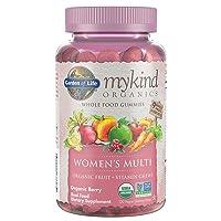 Garden of Life - mykind Organics Women's Gummy Vitamins - Berry - Certified Organic...