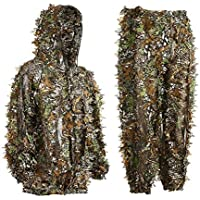 DoCred Ghillie Suit 3D Leaf Realtree Camo Camouflage...