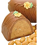 Philadelphia Candies Peanut Butter Easter Egg, Milk Chocolate 8 Ounce Gift Box