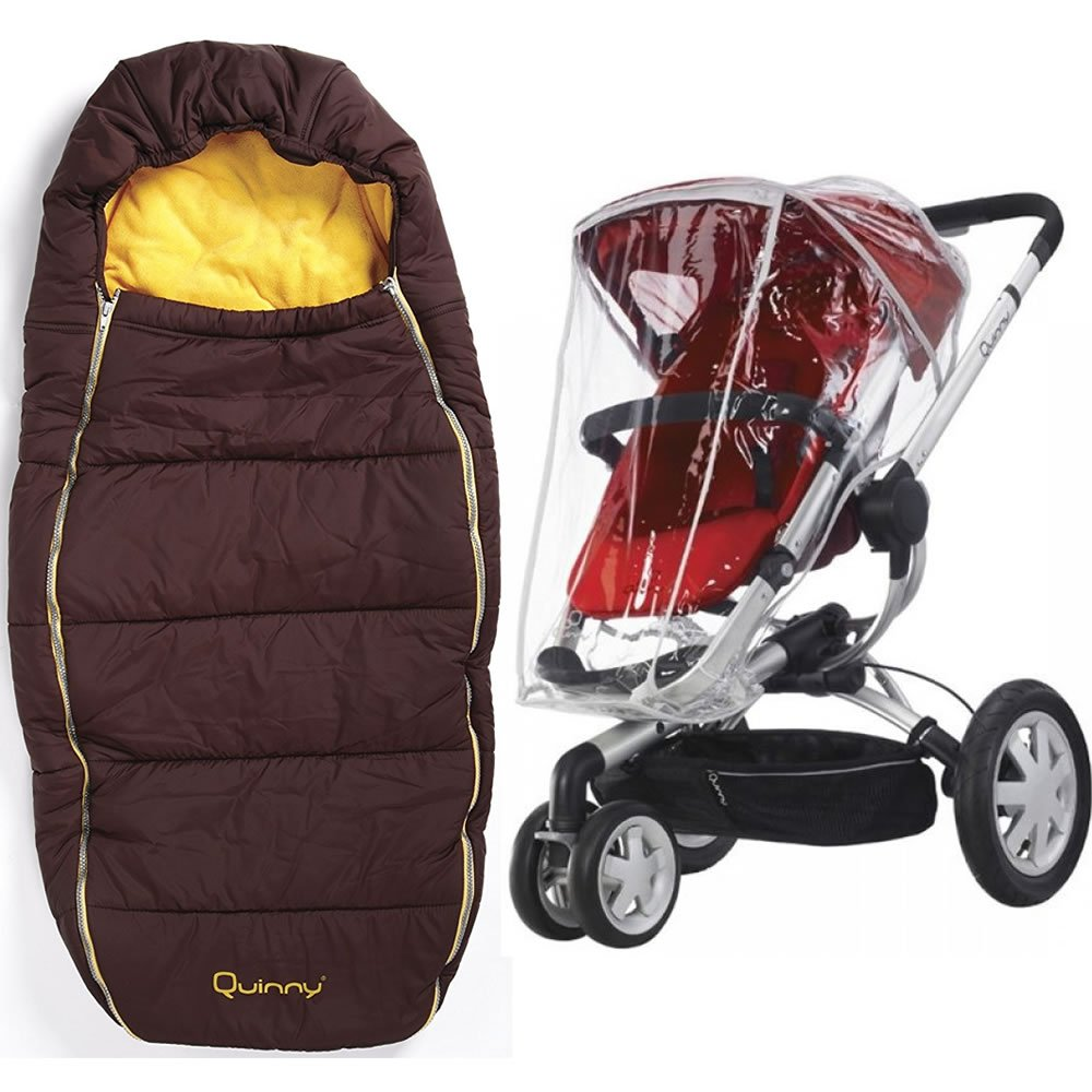 Quinny Buzz Footmuff With Buzz Weathershield in Gold