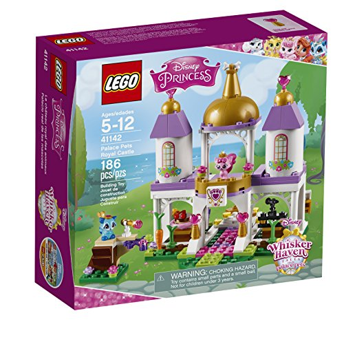 LEGO l Disney Whisker Haven Tales with The Palace Pets Palace Pets Royal Castle 41142 Disney Toy Ages 5 to 12 -