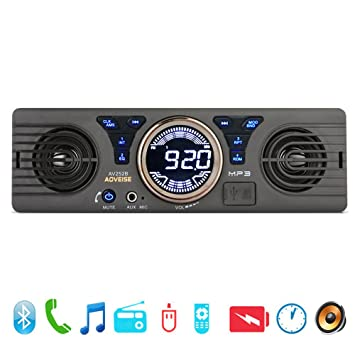 Unterhaltungselektronik 2019 Mode 12 V Radio Bluetooth 1din Stereo Audio Receiver Phone Aux-in Mp3 Fm Usb In-dash Stereo Player Fernbedienung GüNstigster Preis Von Unserer Website