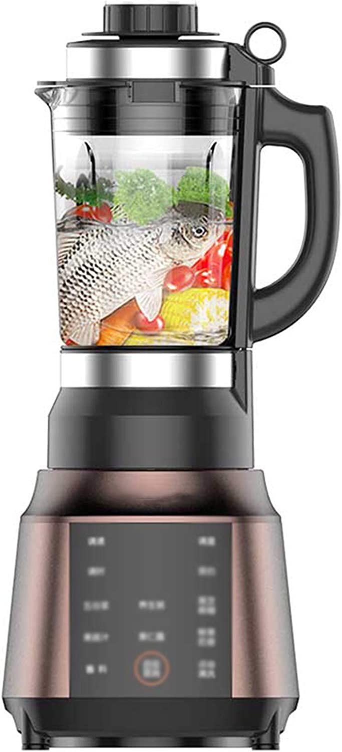 HEN'GMF Blender 900W Professional Countertop Blender Smoothie Maker with BPA Free Container, High Speed Power Blender Built-in Timer for Crusing Ice, Frozen Desser