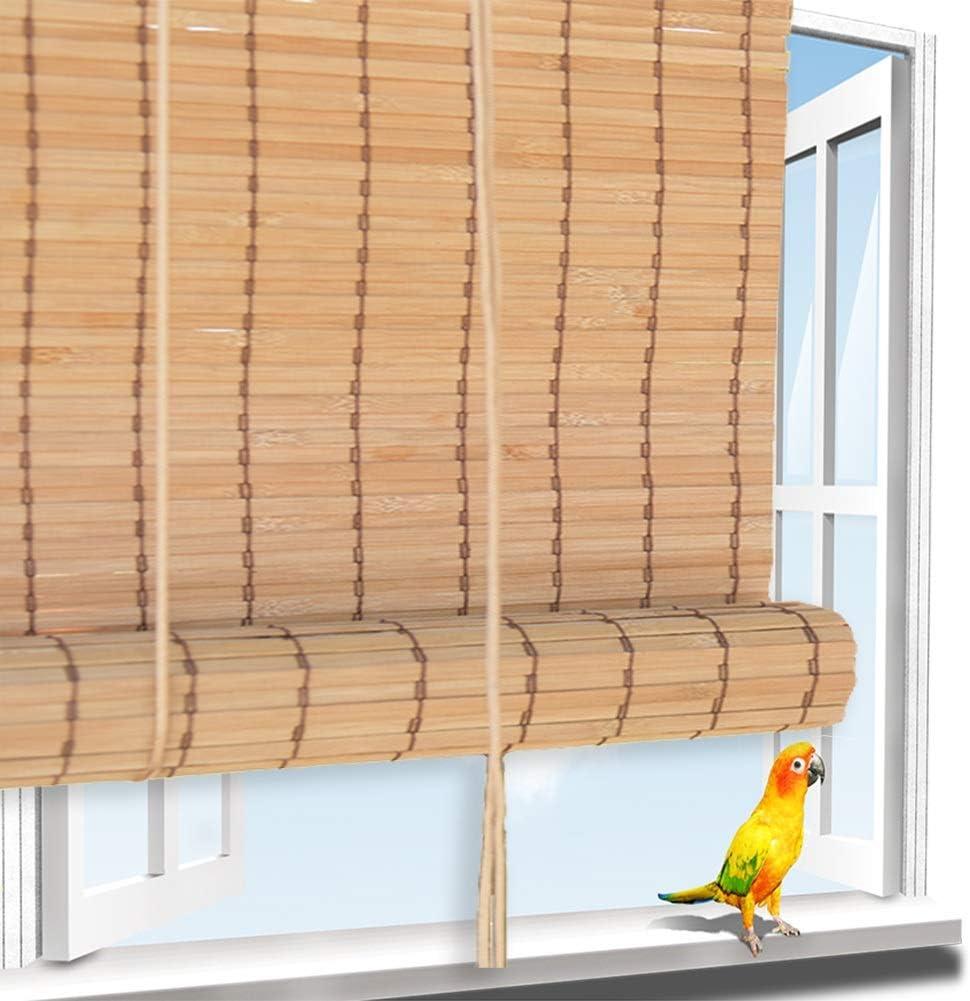 Estores Enrollable QIANDA Persianas de Bambu, Sombra del Jardín Bambú Ajustable Lado Vertical Panel De Pared for Patio/Pérgola/Ventana, Personalizado Tamaños (Color : B, Size : 70x160cm): Amazon.es: Hogar