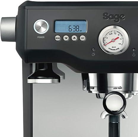 Sage Appliances SES920 - Cafetera espresso, color negro: Amazon.es ...