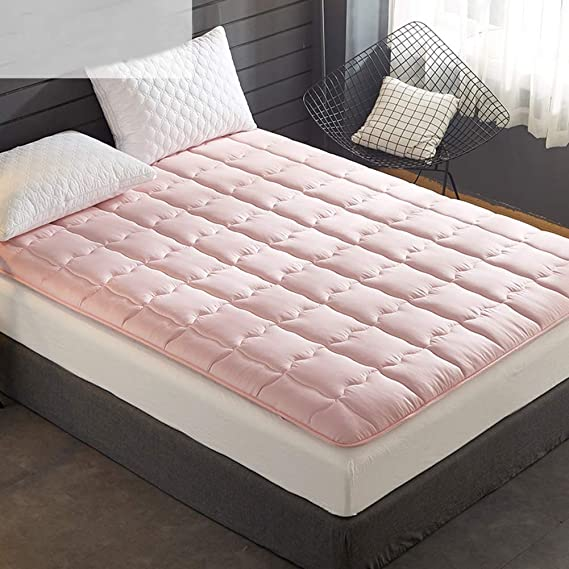 ASDFGH Que Ligero Ultra Soft Colchón Sofa Cama, Portátil Colchón Tatami Colchones de futon con 4 Bandas de Anclaje Futon colchón-Gris Gemelo: Amazon.es: ...