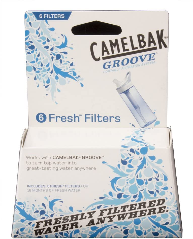 CamelBak Unisex Adult Groove Accessory 6 Pack Filters