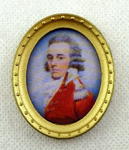 【高知インター店】 Dolls House Miniature Accessory Gentleman Portrait Portrait Picture in Picture Oval Oval Gold Frame B01CYIFUZK, いいものいっぱい家具屋姫:76c67b9d --- diceanalytics.pk