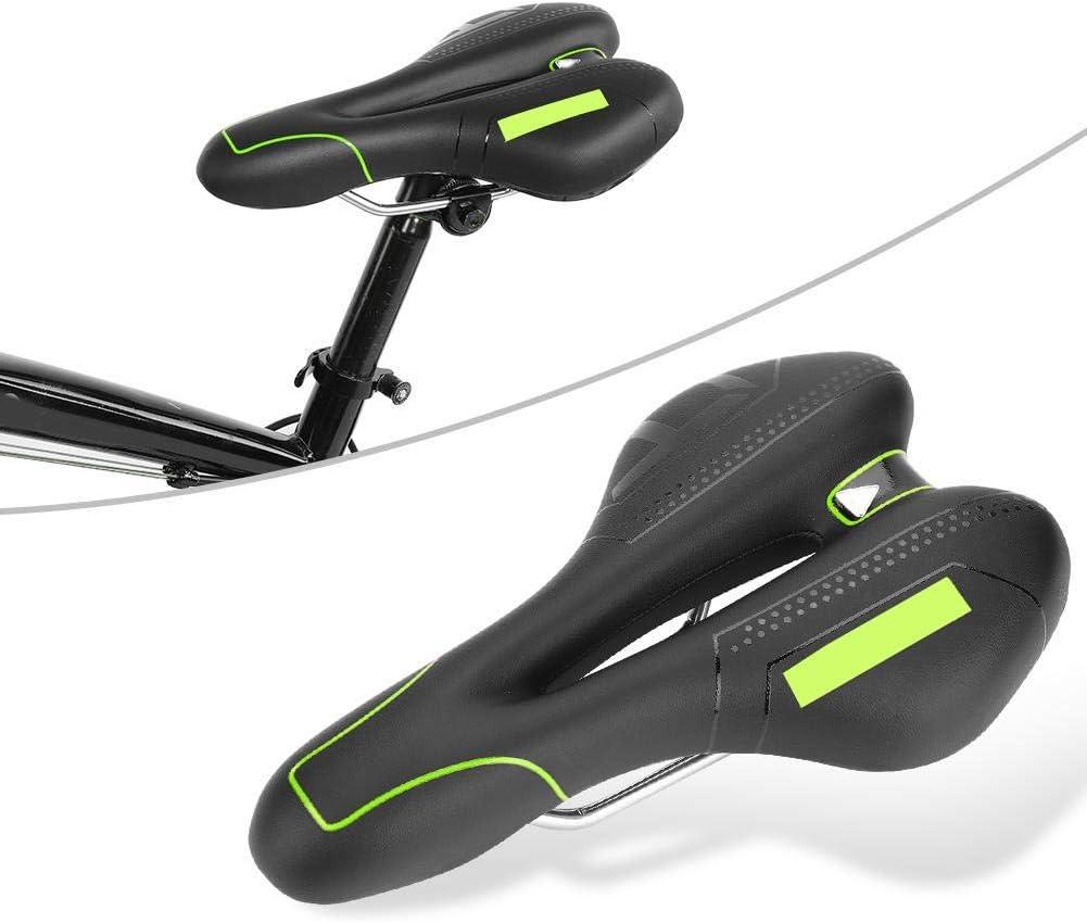 sill/ín de Bicicleta Coj/ín Acolchado para Bicicleta para Hombres y Mujeres Comodidad VGEBY1 Sill/ín de Bicicleta