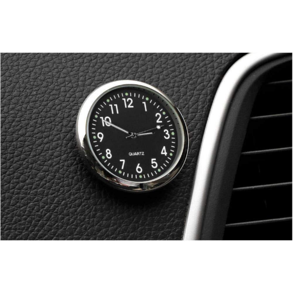 Orologio universale per auto Accessori elettronici Decorazioni luminose Indicatore portatile digitale Interno Sfiato aria impermeabile Quarzo Stick su styling