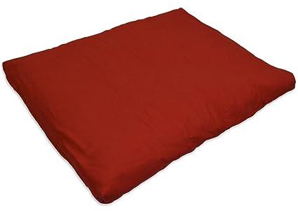 YogaAccessories (TM) Cotton Zabuton Meditation Cushion ...