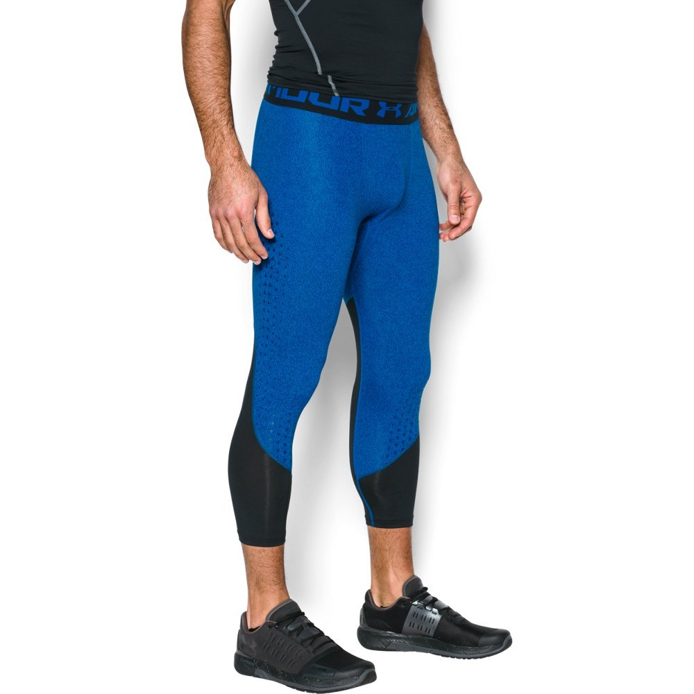 Under Armour Men's HeatGear CoolSwitch Armour 2C Compression ¾ Leggings, Blue Marker (789)/Graphite, XXX-Large